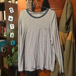 GAP Indigo collection long sleeve shirt